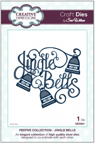 FESTIVE COLLECTION - Jingle Bells CED3031 by Sue Wilson